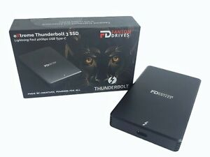 Fantom Drives Extreme 1TB Portable NVMe SSD Thunderbolt 3 40Gb/s Up to 2800MB/s