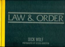 LAW & ORDER - CRIME SCENES BY DICK WOLF - HC 1st ED. 2003 PHOTO JESSICA BURSTEIN