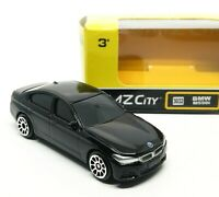 BMW M550I Black Diecast Car Scale 1/64 (Approx 2.5 inches) RMZ City