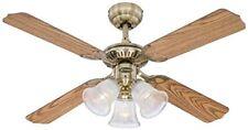 Princess Ventilateur de plafond Métal laiton Antique Westinghouse Ceiling Fans