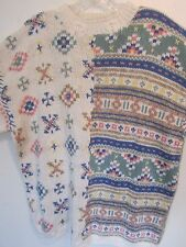 Woolrich Finest Hand Knit Ladies Sweater Large Size