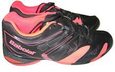 Babolat Pro Shield Black Salmon Pink Men's Size 12.5 Tennis Athletic Shoes Mens