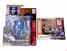 Transformers Takara LG44 sharticon e Titans ritorno Deluxe Flagello