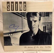 "Sting ""The Police"" Signed Autographed Album C"