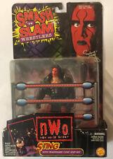 Sting ToyBiz WCW NWO Smash 'N Slam Westlers Action Figure NWA WWE TNA Impact