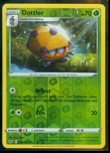 Pokemon DOTTLER 018/202 Sword & Shield Rev Holo - - MINT