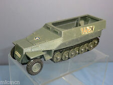 "DINKY TOY'S MODEL No.694 ""HANOMAG"" TANK DESTROYER (WITHOUT GUN)"
