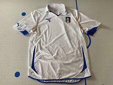 PUMA ITALY 2010 AWAY JERSEY WHITE 736648-02 Men Size Large