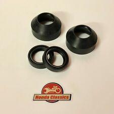 Honda CB750 K7 K8 SOHC Four Front Fork Oil Seal & Dust Cover Set. KIT094