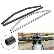 "7/8"" 1'' Motorcycle Drag Strip Bars Flat Handlebars For Harley Bobber Chopper"