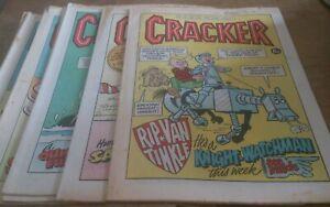 10 CRACKER COMICS 1976