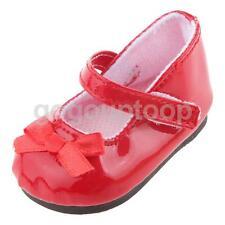 """Rojo Mary Jane Zapatos Para Muñeca 18"""" American Girl nuestra generación Accesorio"""