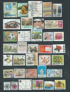 Singapore lot 1 nice selection good range as scanned (749)