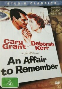 NEW SEALED A Affair To Remember DVD Cary Grant Deborah Kerr Classic 1957 50s