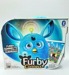 2016 Hasbro FURBY CONNECT Blue Electronic Interactive Toy NEW Sleep Mask Sealed