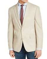 Bar III Mens Suit Seperate White Ivory Size 46 R Blazer Slim Fit $295 079