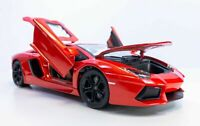 LAMBORGHINI AVENTADOR COUPE RED 1:18 SCALE BY MAISTO 31702