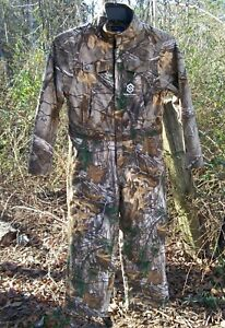 SCENTLOK Prevent Insulated Hunting Coveralls RealTree Xtra Camo Youth sz Medium