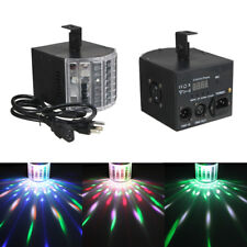 Wowtou DJ Lights DMX Sound Music Activated 18w RGB LED Strobe Effect Stage