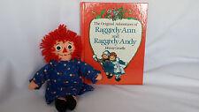 Vintage Original Adventure Raggedy Ann Andy Book Toy Doll 12 Inch Johnny Gruelle