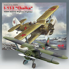 ICM 1/48 I-153 'CHAIKA' (SEAGULL) RUSSIAN WWII BIPLANE FIGHTER