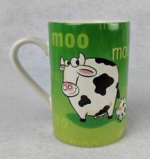 Moo Cow Green Coffee Cup Mug