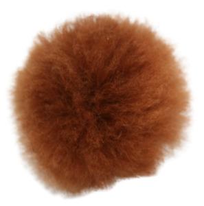 Alpaca Fur Pom Pom Real Alpaca Handmade Fluffy Pompom Fairtrade for Hats & more