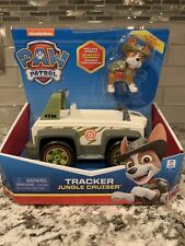 Paw Patrol ~ Tracker's Jungle Cruiser ~ SpinMaster ~ Vehicle with Tracker Figure