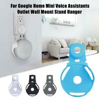 Wall Mount Stand Hanger Mounted Bracket for Google Home Mini Voice Assistants