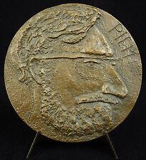 Médaille Pierre de Barrigue de Montvallon dit Piem dessinateur humaniste Medal