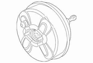 Genuine GM Booster Assembly 19209324
