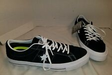 NEW CONVERSE ONE STAR BLACK OX SUEDE LO TOP SNEAKERS SIZE MEN'S 11 EUR 45