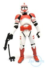Star Wars 30th Anniversary Saga Legends SL Clone Shock Trooper Loose Complete