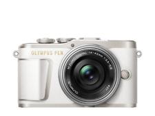 Olympus PEN E-PL9 Digital Camera + 14-42mm Lens - White