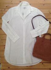 Z1 NEW Madewell Button Pocket Down Top XS Work Boy Shirt Top Blouse Jcrew $82