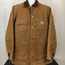 NWOT - Carhartt Duck Chore Coat Blanket Lined Rancher Work Coat Mens Size 40T