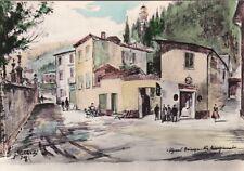 * VIGANO' BRIANZA - Via Risorgimento - Dis.Chiabà 1961