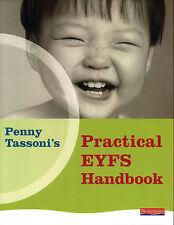 Penny Tassoni's Practical EYFS Handbook Paperback Book
