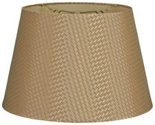 Tapered Shallow Drum Hardback Lamp Shade (HB-606)