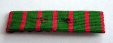 Ruban de rappel pour médaille Croix de guerre 1914 / 1918 sans épingle.