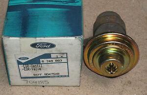 Ford Fiesta Escort Mondeo P100 Sierra EGR Valve Finis Code 6749883 Genuine Ford