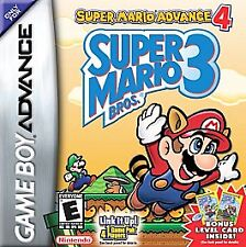 SUPER MARIO ADVANCE 4 GAME BOY ADVANCE GBA COSMETIC WEAR