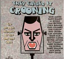 VARIOUS ARTISTS ~ THEY CALLED IT CROONING ~ 1984 UK 18-TRACK STEREO LP RECORD
