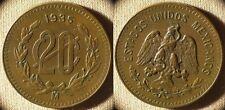 Mexico : 1935 20 Ct AU Nice  #437   IR7165