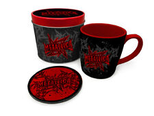 More details for metallica - stars and wings - mug and coaster in tin official gift set gp85534