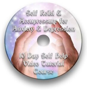 SELF REIKI & ACUPRESSURE FOR HEALING ANXIETY AND DEPRESSION VIDEO TUTORIAL