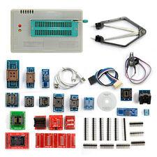 TL866A Universal Minipro Programmer+24 Adapters+Test Clip+1.8V Adapter TL866 AVR
