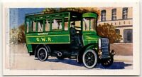 "1904 Great Western Railway ""Road Motor"" Bus London Vintage Trade Ad Card"