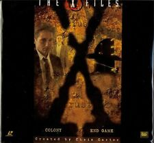 THE X-FILES LASERDISC- COLONY & END GAME! BRAND NEW! STILL SEALED!