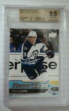 2016-17 Upper Deck young guns #451 Patrik Laine graded BGS9.5